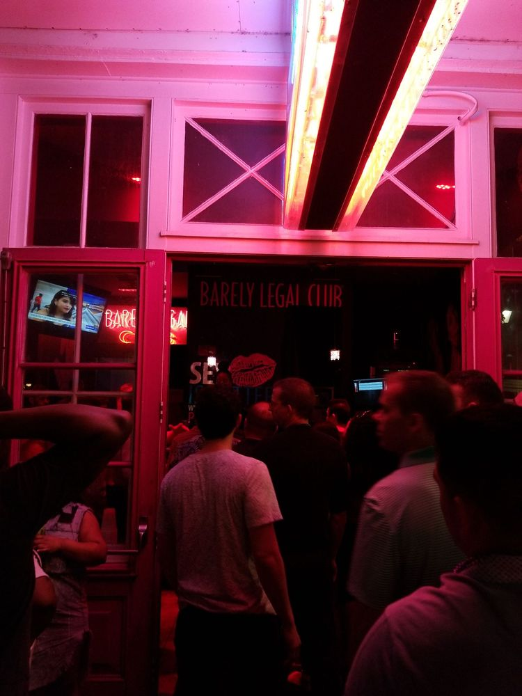 Larry Flynt's Barely Legal Club: 423 Bourbon St, New Orleans, LA