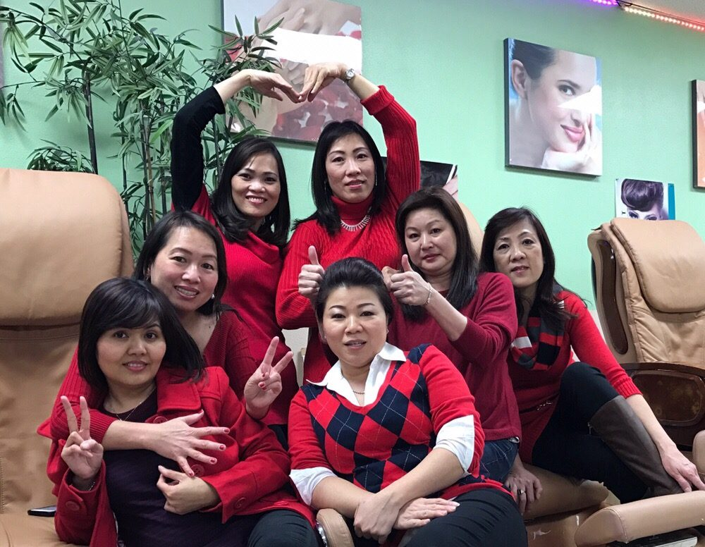 Luxury hair and nail spa 186 foto 39 s 28 reviews for 186 davenport salon review