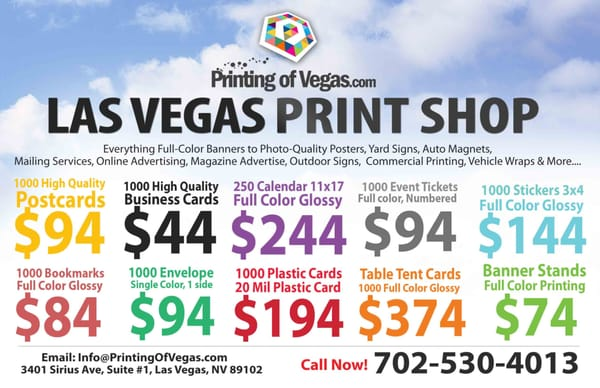 Same day printing 3380 arville st ste 1 las vegas nv computer same day printing 3380 arville st ste 1 las vegas nv computer graphic design mapquest reheart Choice Image