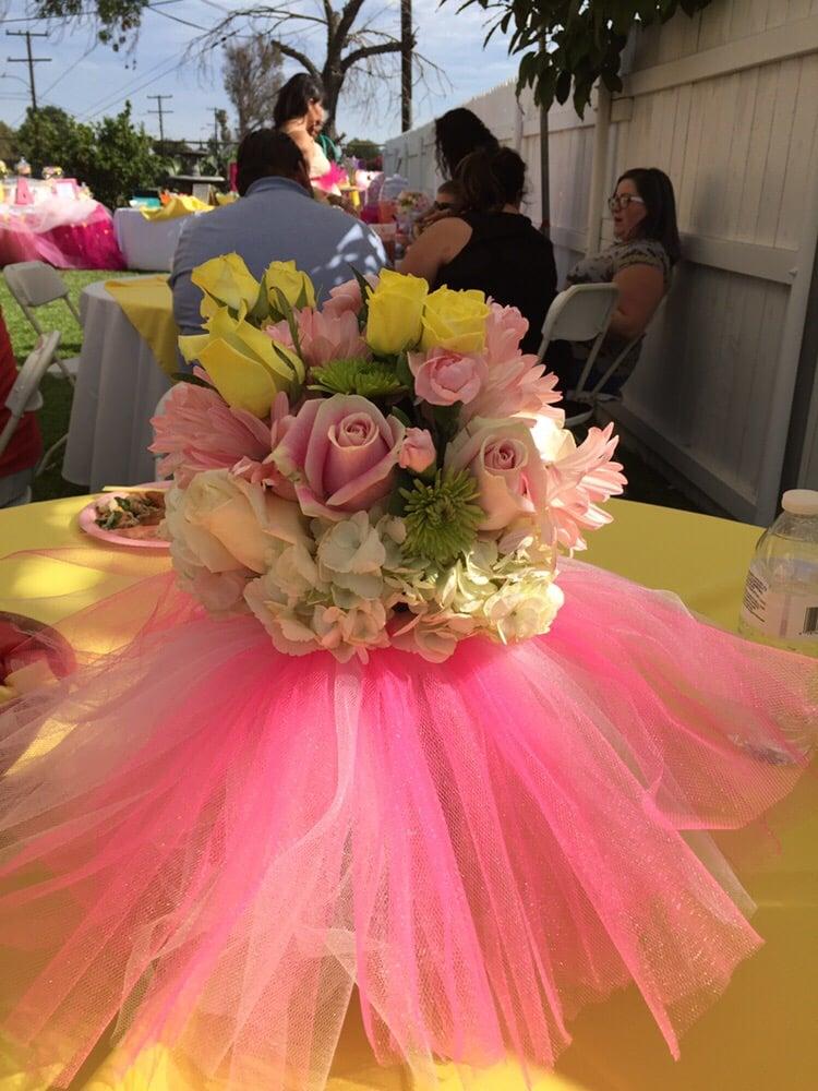 Photo Of Rosemantico Flowers Whittier Ca United States Tutu Baby Shower Fl