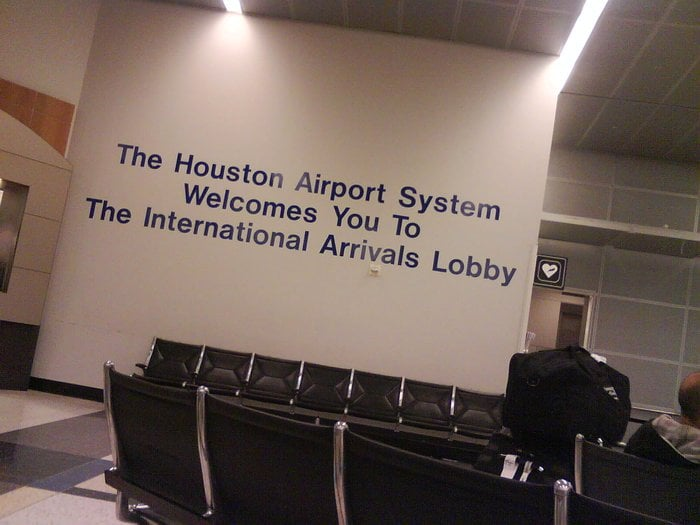 At Terminal E The International Arrivals Lobby Yelp
