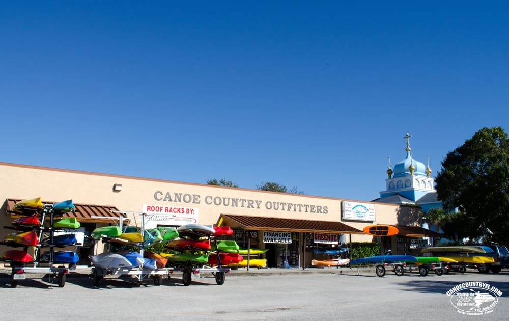 Canoe Country Outfitters: 6493 54th Ave N, Saint Petersburg, FL
