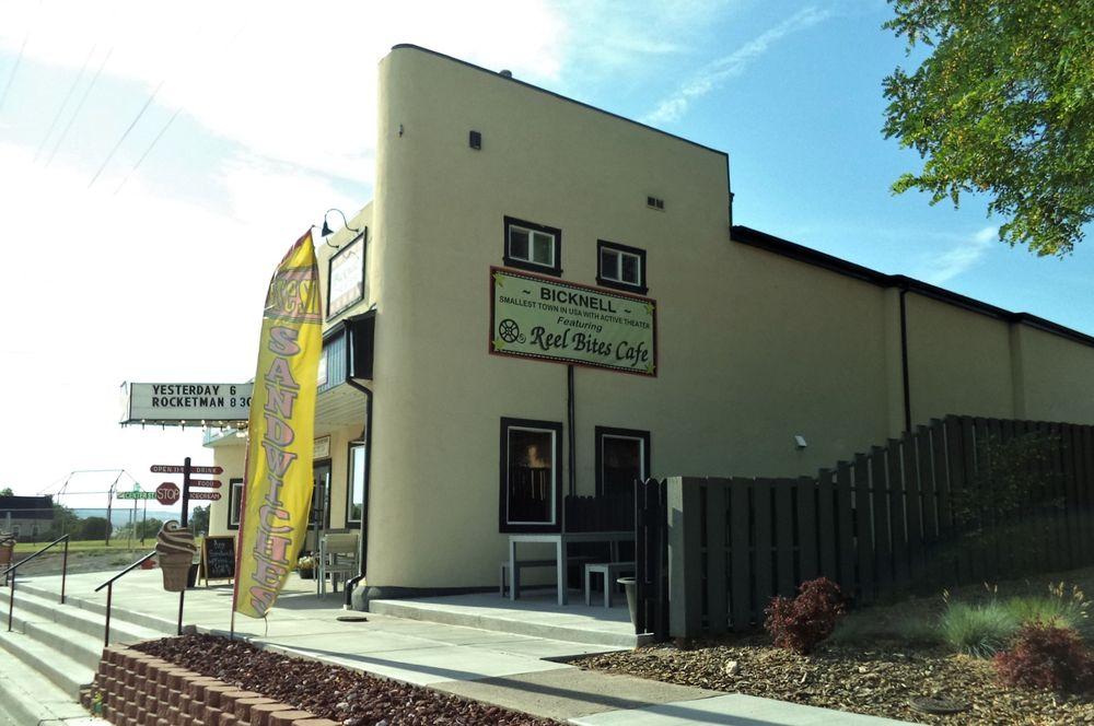 Reel Bites Cafe: 11 East Main St, Bicknell, UT