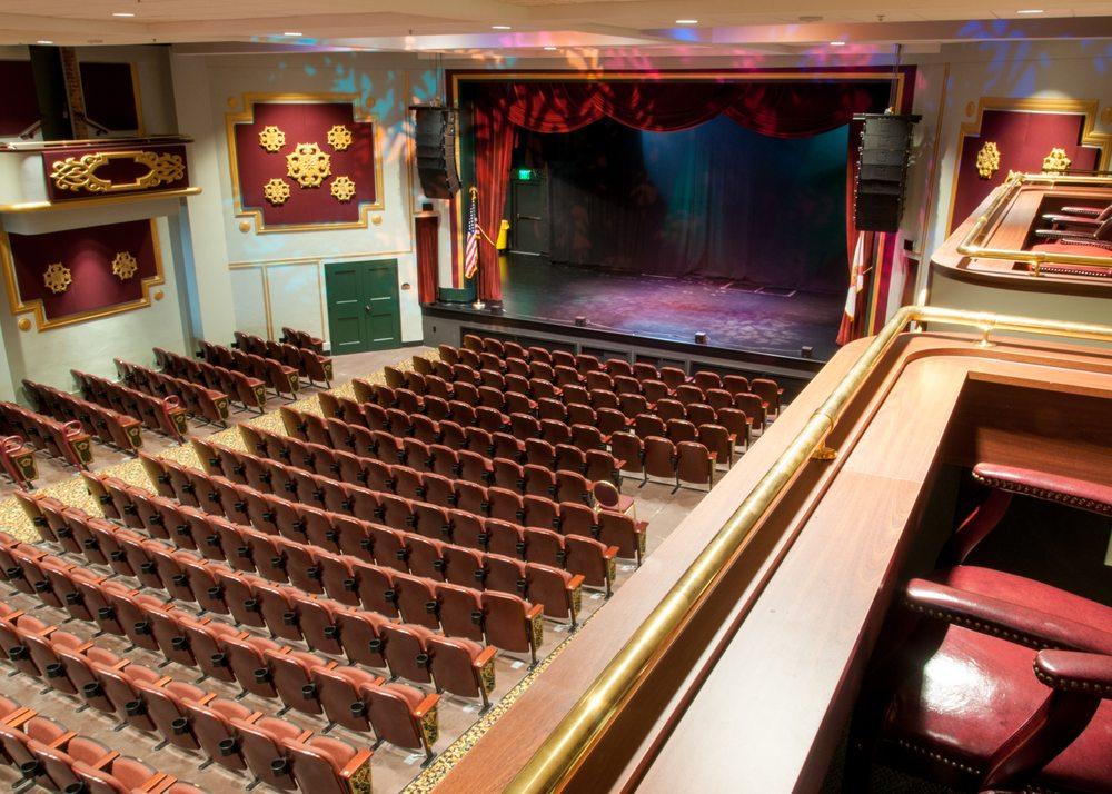 Nancy and David Bilheimer Capitol Theatre: 405 Cleveland St, Clearwater, FL