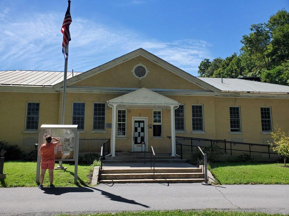 Berkeley Springs State Park Bath House: 2 S Washington St, Berkeley Springs, WV