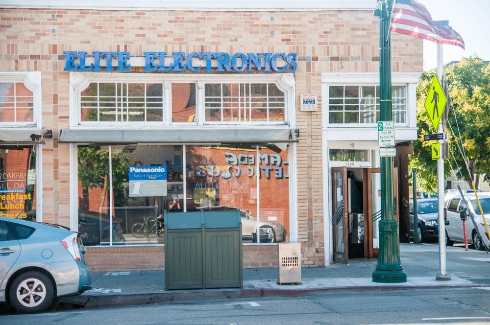 Elite Electronics: 1229 Park St, Alameda, CA