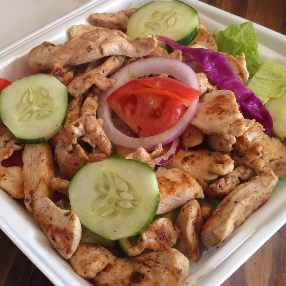 Grilled Chicken Salad Mayflower Reidsville Nc Yelp