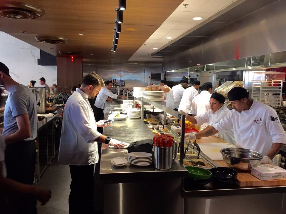 Doc B S Fresh Kitchen Open Kitchen