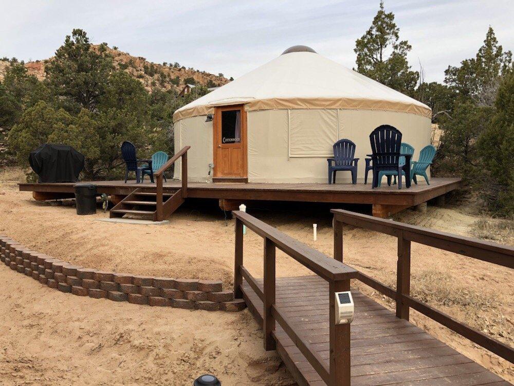 Escalante Yurts: 1605 Pine Creek Rd, Escalante, UT