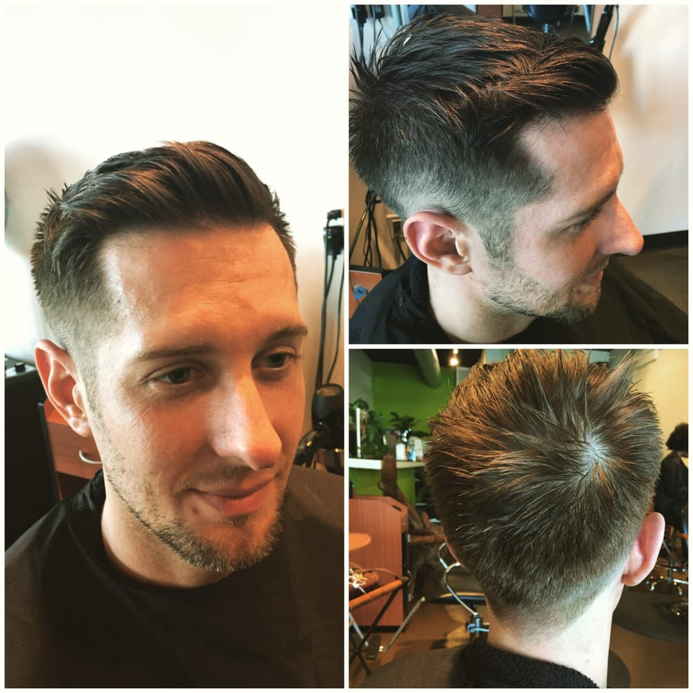 Color Correction Mens Haircut And Style West Hollywood Hair Salon