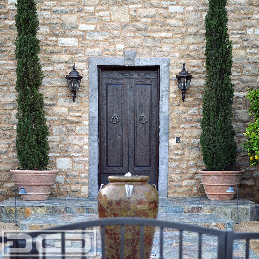 Orange County Custom Entry Door Made For A Newport Beach Tuscan
