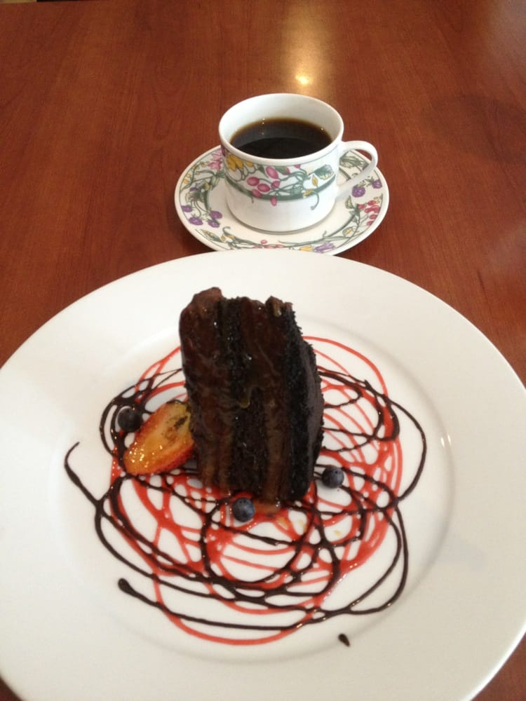 Chocolate Mousse Cake Beautiful Presentation Decadent In Flavors