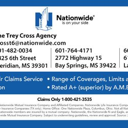Nationwide Claims Phone Number >> The Trey Cross Agency Home Rental Insurance 1825 6th St