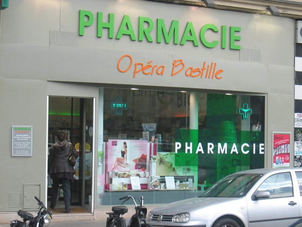 Resultado de imagen para Pharmacie Bastille lenoir