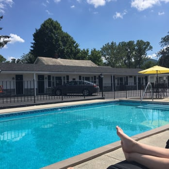 Photo Of Knotty Pine Motel Bennington Vt United States Swimming Pool At