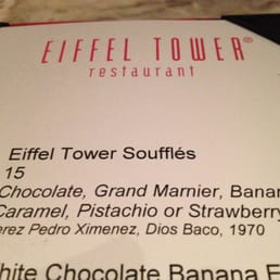 Photos For Eiffel Tower Menu Yelp