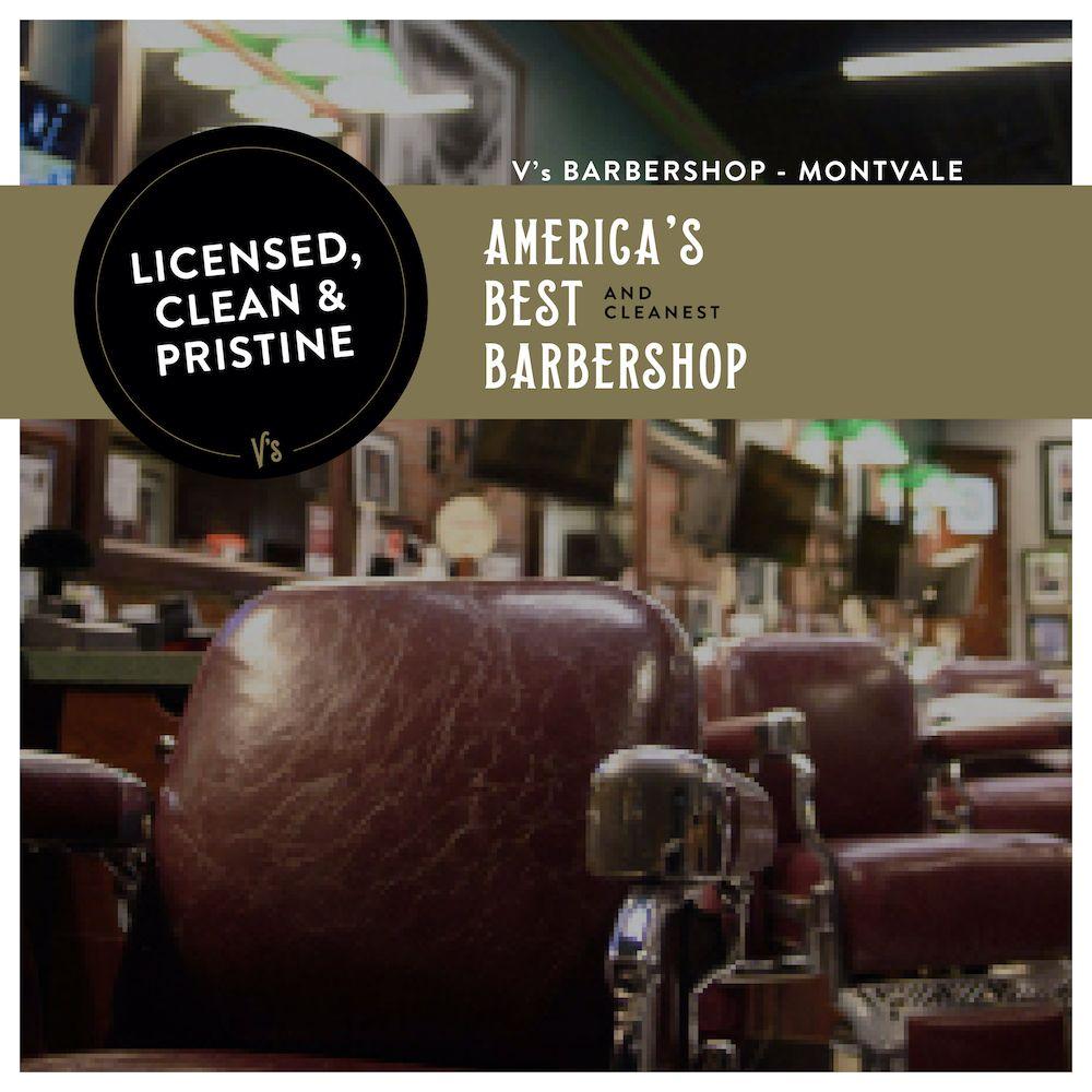 V's Barbershop - Montvale: 54 Farm View Rd, Montvale, NJ