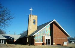 St Joseph's Catholic Church: 512 Cedar St, Ashland, KS