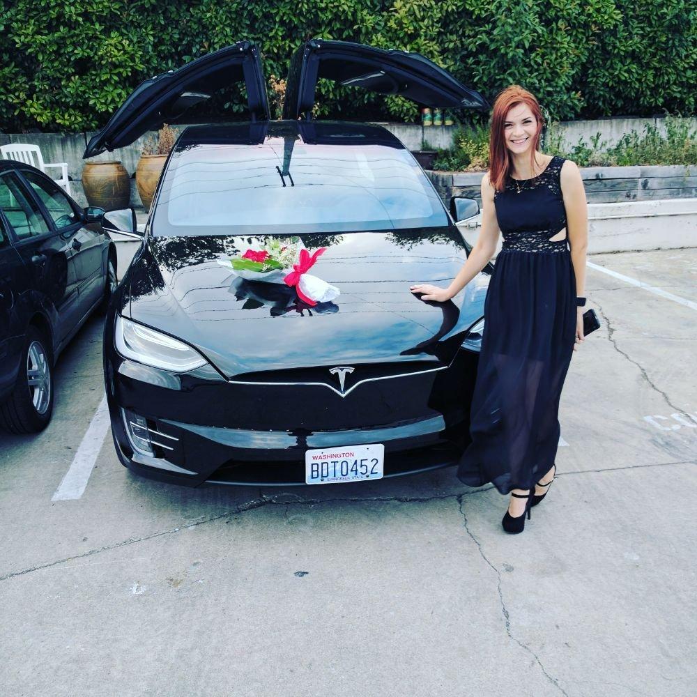 Camy's Tesla Limo Seattle