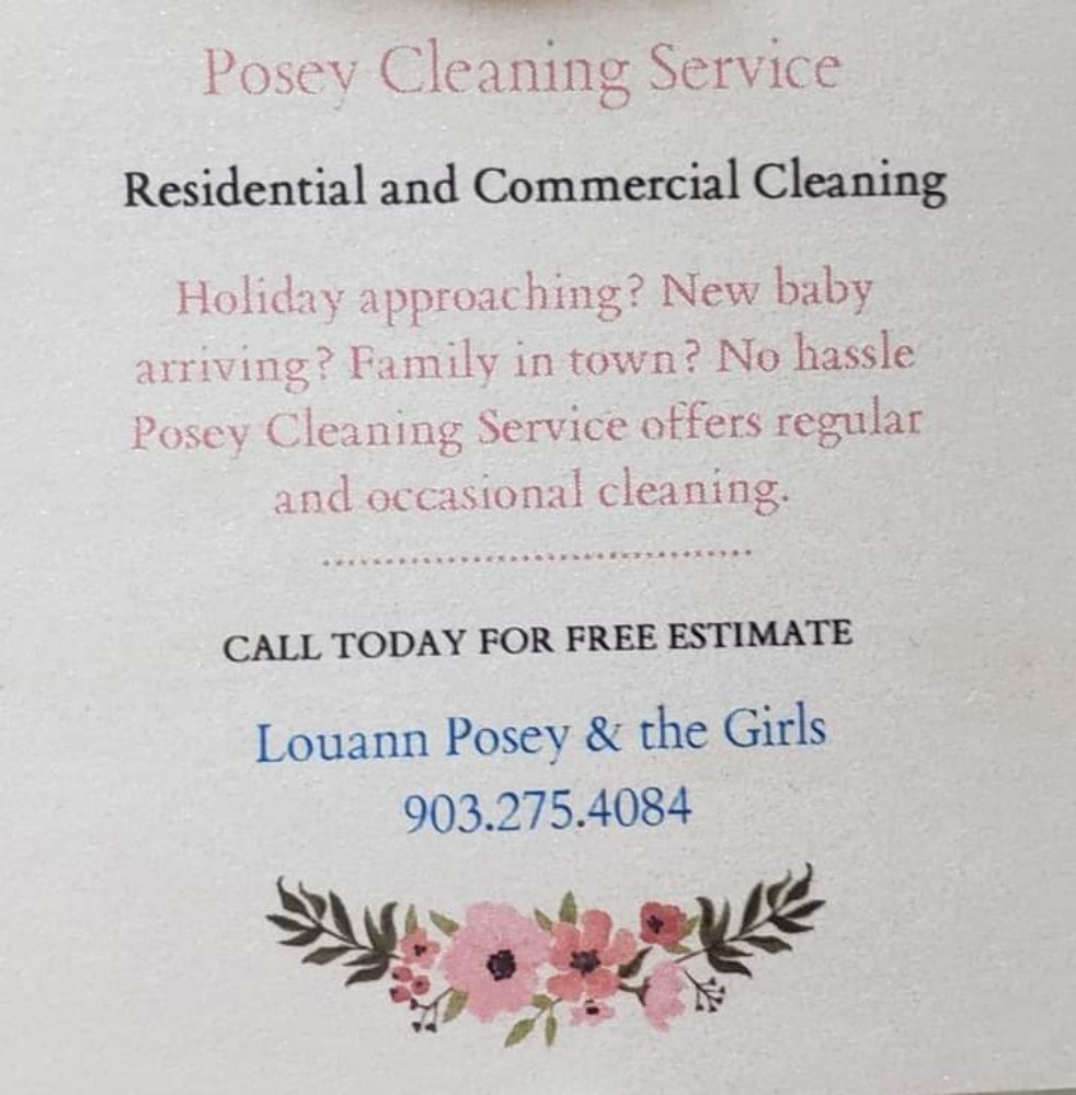 Posey Cleaning: Kemp, TX