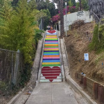 Photo Of Micheltorena Stairs   Los Angeles, CA, United States. Micheltorena  Stairs