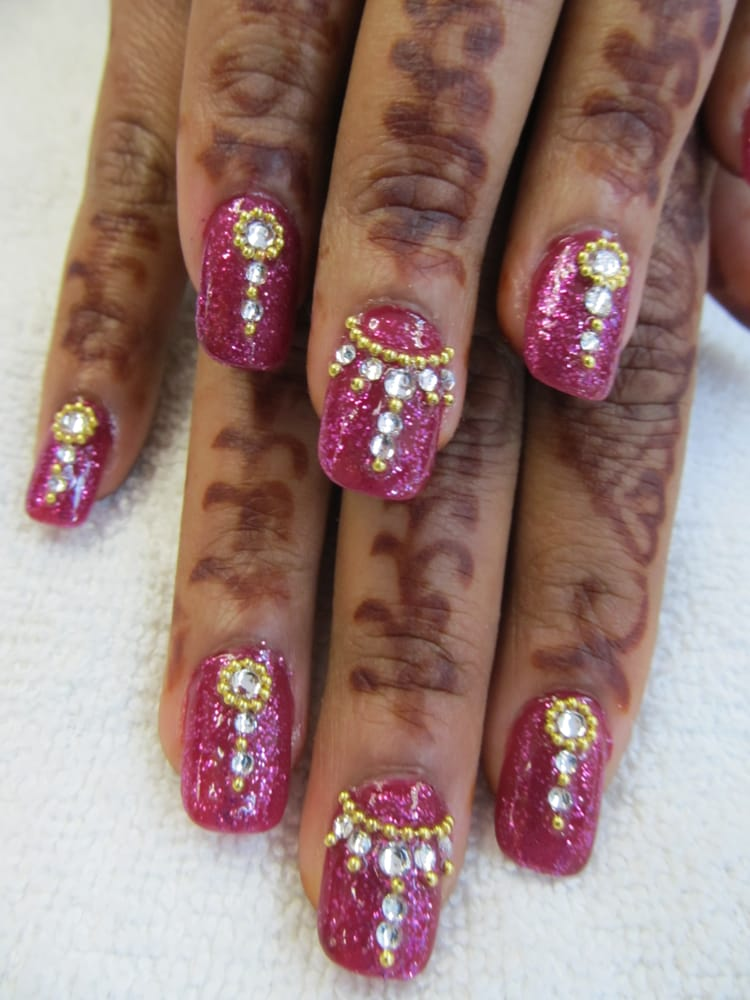 Indian bride nail design yelp photo of nails unique hayward ca united states indian bride nail design prinsesfo Images