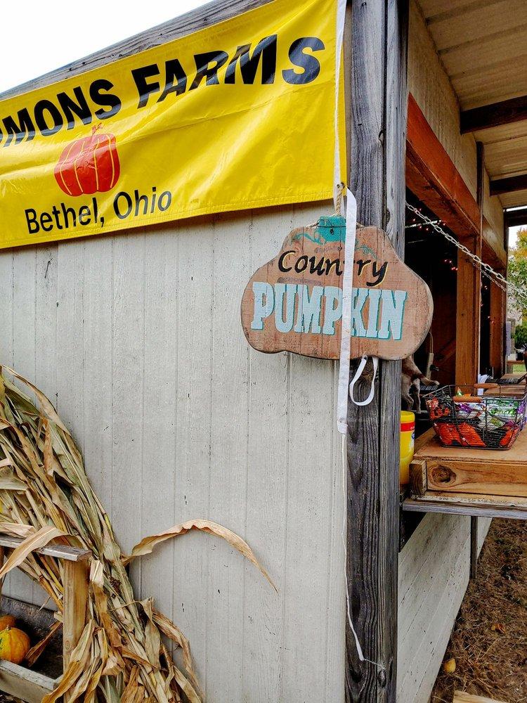 Simmons Farms: 3020 Schaller Rd, Bethel, OH