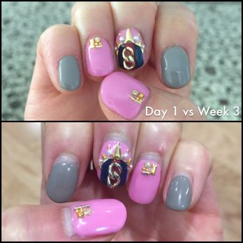 Esnail 184 photos 137 reviews nail salons 8384 melrose ave photo of esnail los angeles ca united states day 1 vs week prinsesfo Images