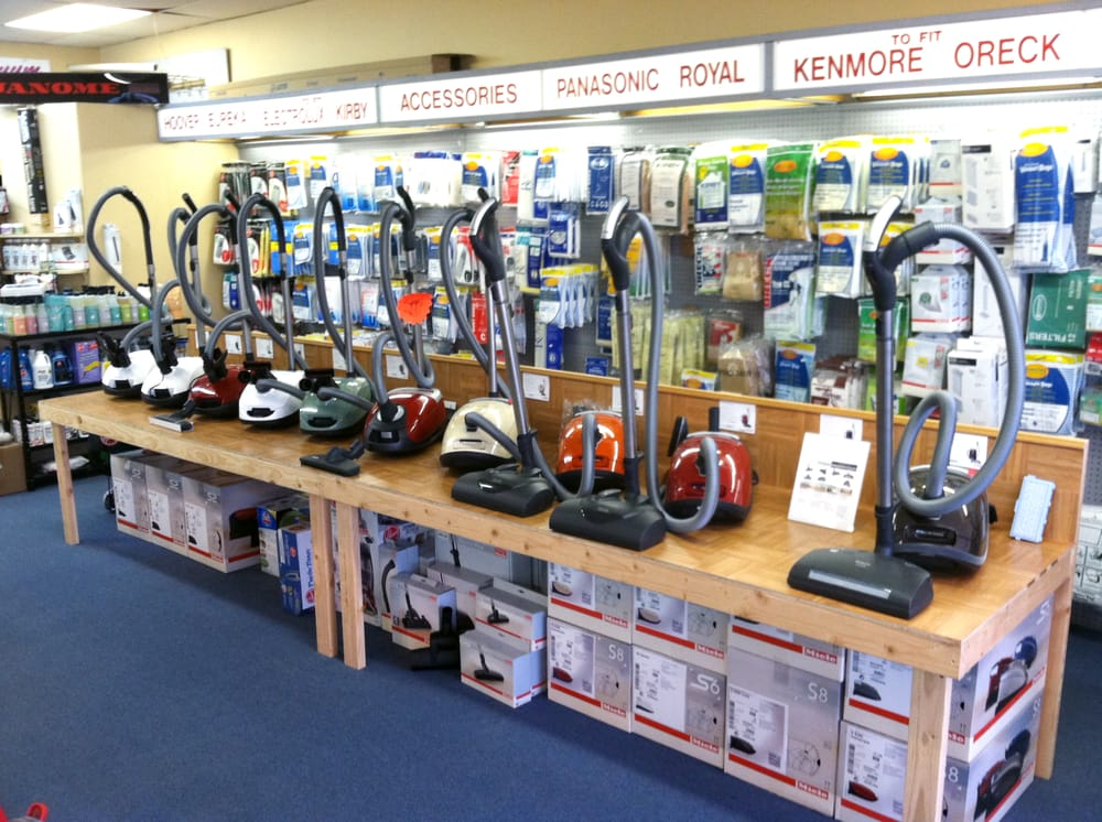 Huge Selection Of New Miele Canister Vacuums On Display