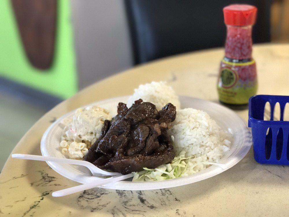 Food from Hukilau Cafe
