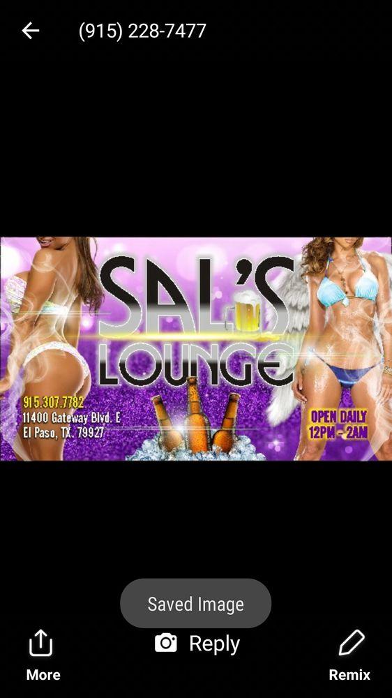 Sal's Lounge: 11400 Gateway Blvd E, El Paso, TX