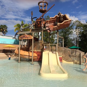 Photo Of Disney S Caribbean Beach Resort Orlando Fl United States Splash Pad