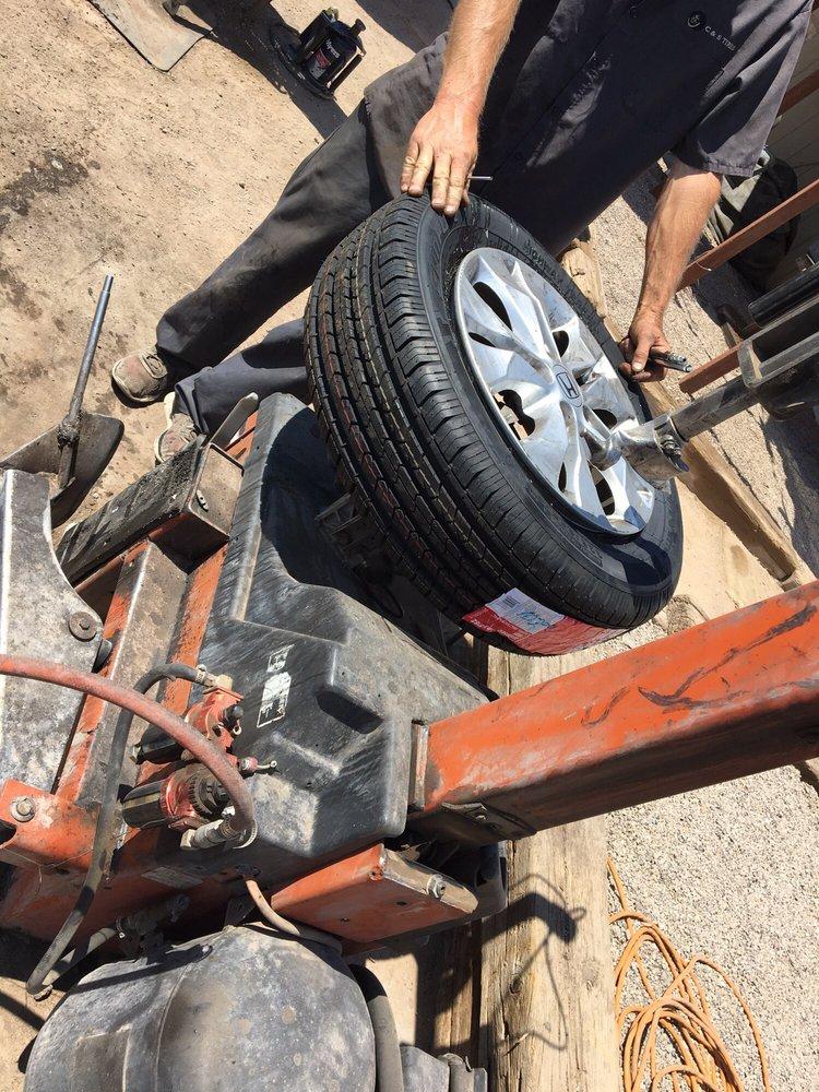 C& S Tires: 48710 Vicksburg Rd, Salome, AZ
