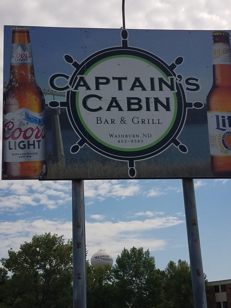 Captain's Cabin: 1608 Dakota Dr, Washburn, ND