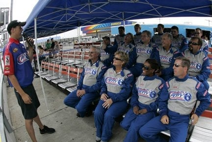 Social Spots from Richard Petty Driving Experience