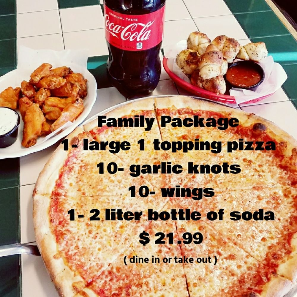 Jimmy's Pizza & Pasta: 394 US Hwy 206 N, Branchville, NJ