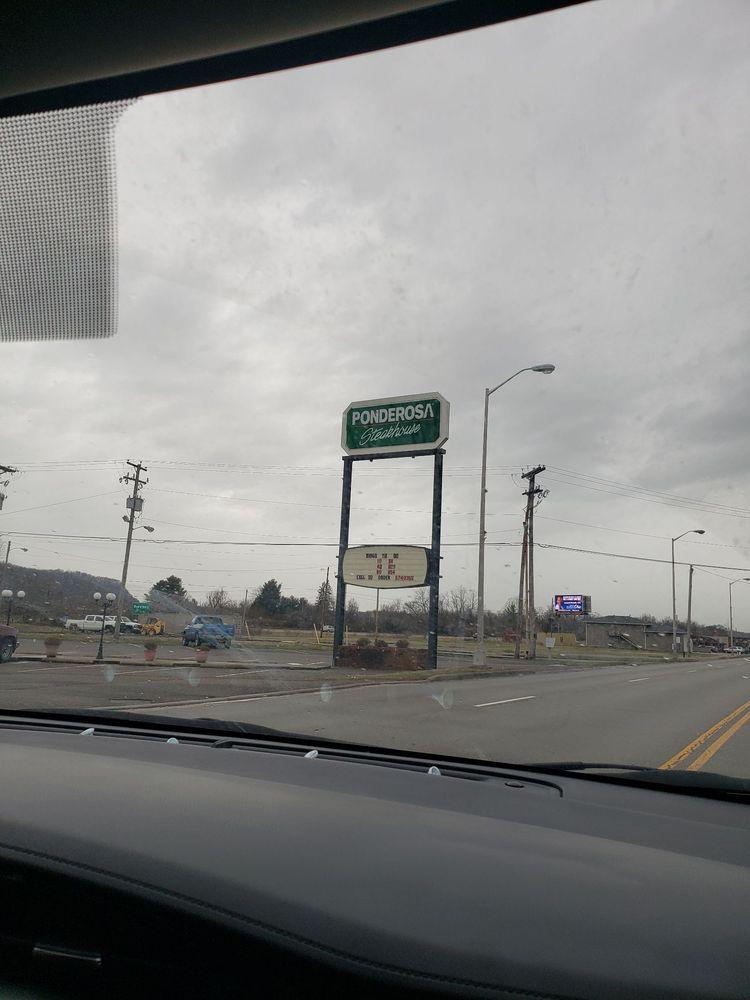 Ponderosa Steak House: 8801 Ohio River Rd, Wheelersburg, OH