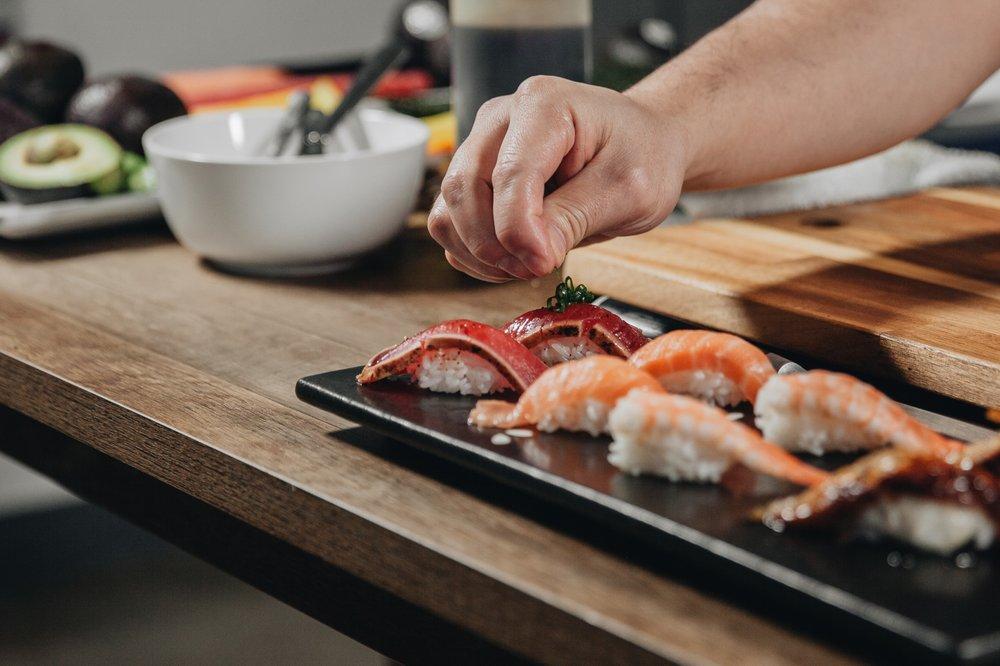 Food from The Original Momiji Sushi Restaurant