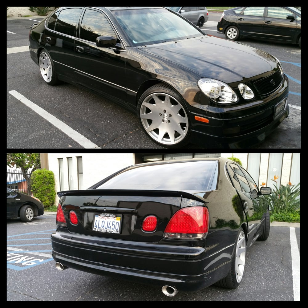 2000 Gs300 Vip Parts installed at ONEX Admiration lip kit with