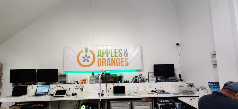 Apples and Oranges: 8 Nickels Arcade, Ann Arbor, MI