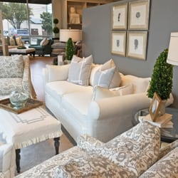 Photo Of Quatrine Custom Furniture   Dallas, TX, United States. Slipcovered  Living Room