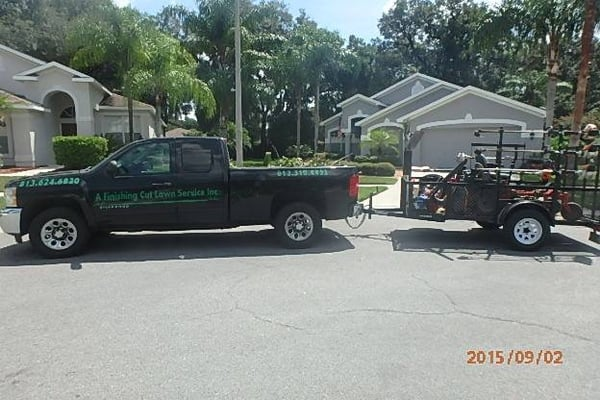 a finishing cut lawn service get quote landscaping dover fl
