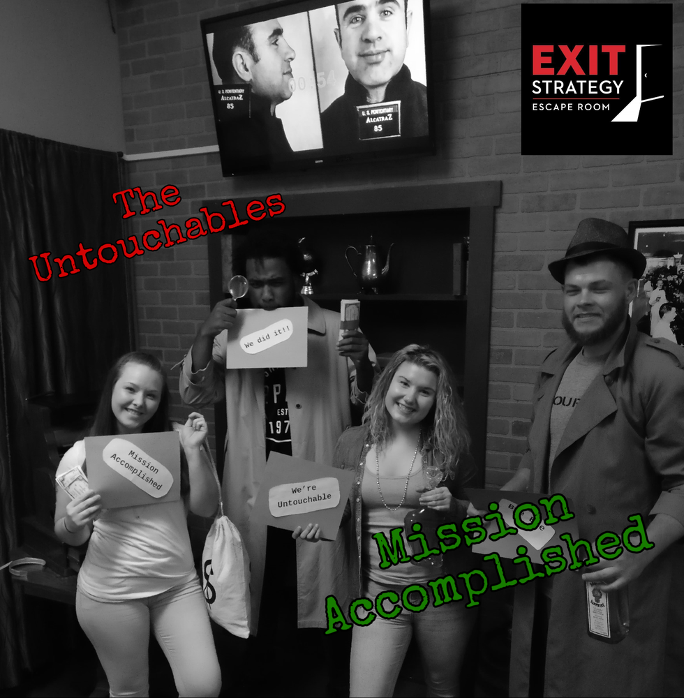 Exit Strategy Escape Room: 3 Pershing St, Cumberland, MD