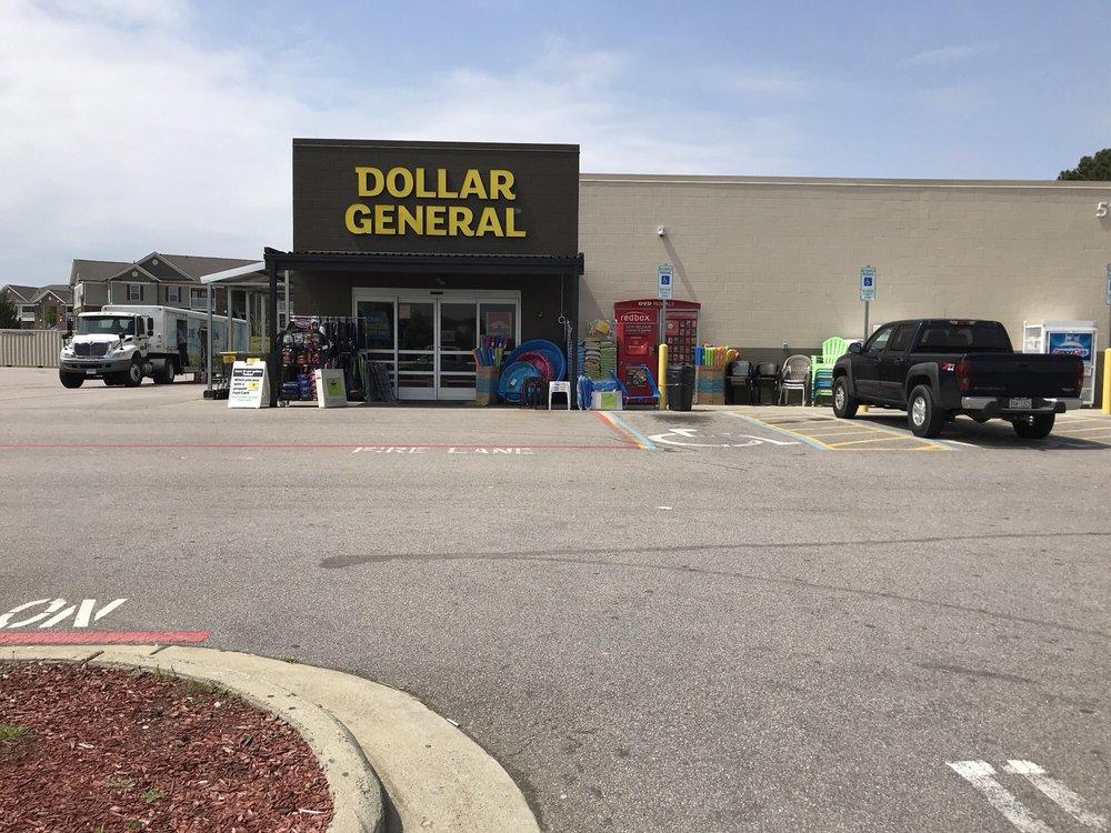 Dollar General Store: 120 E Stewart St, Coats, NC