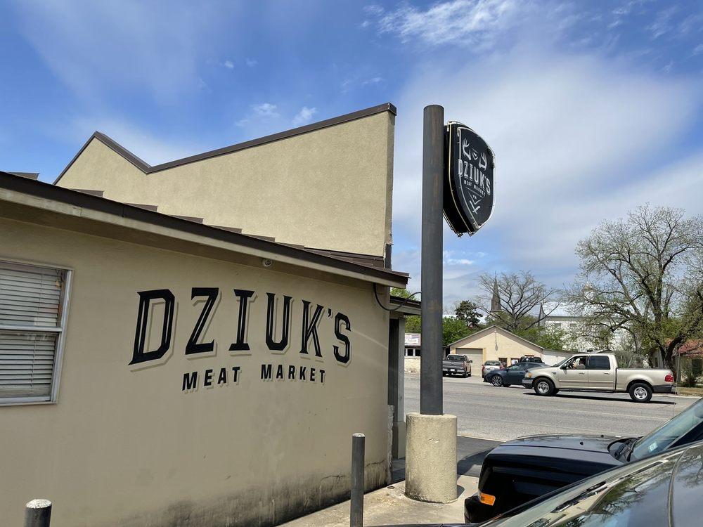 Dziuk Meat Market: 608 US Hwy 90 W, Castroville, TX