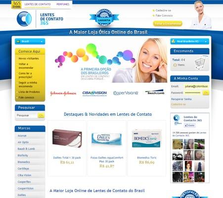 d477b9f6d7e2d Lentes de Contato 365 A Ótica do Brasil! - Beauty   Spas - Centro ...