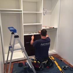 Photo Of Artisan Custom Closets   Marietta, GA, United States. Installation  Day