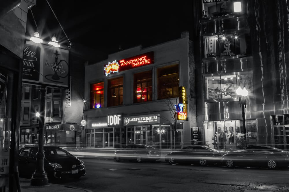 The Annoyance Theatre and Bar: 851 W Belmont Ave, Chicago, IL