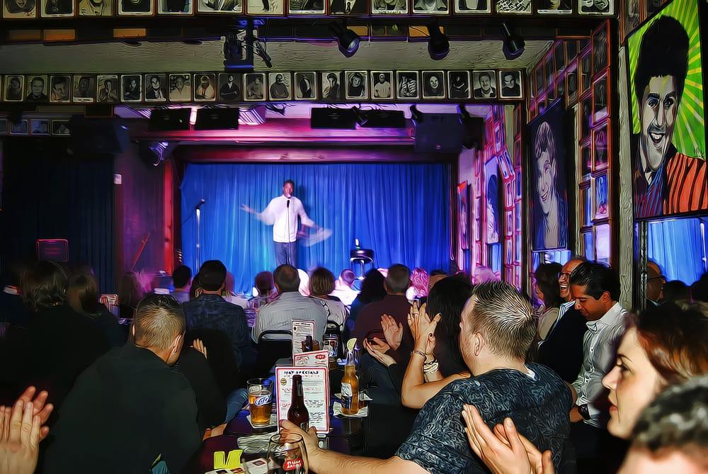 Zanies Comedy Club: 1548 N Wells St, Chicago, IL
