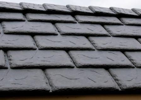 Synthetic slate davinci valore gray yelp for Davinci slate roof reviews